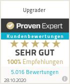 Bewertung von Upgrader